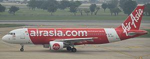 Indonesia AirAsia X - An Indonesia AirAsia X Airbus A320-200 at Bangkok Don-Mueang