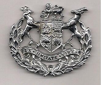 Sergeant major - Warrant officer class 1 rank badge 1921–2002