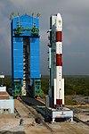 PSLV-C44 at First Launch Pad SDSC SHAR Sriharikota 08.jpg