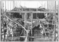 PSM V58 D037 Battleship hatsuse three months after keel laid.png