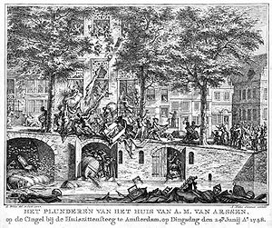 Financial history of the Dutch Republic - Pachtersoproer