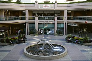 Chinatown, Oakland - Pacific Renaissance Plaza in Oakland Chinatown contains the Asian Branch Library and Oakland Asian Cultural Center.