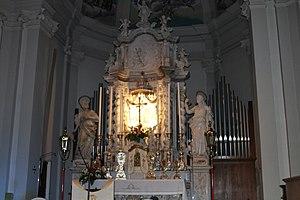 Pagnacco, Chiesa di San Giorgio Martire, Organo Zanin.jpg