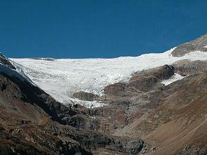 Palü Glacier - Image: Palü gletscher