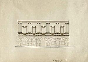 Palazzo Civena - Palazzo Civena, façade (Andrzej e Ewa Pereswet Soltan, 1977)