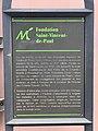 Panneau Information Fondation St Vincent Paul Montreuil Seine St Denis 2.jpg