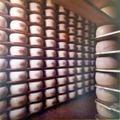 Pannello fotografico lavorazione Parmigiano-Reggiano (1 di 6) - Musei del cibo - Parmigiano - 216.tif
