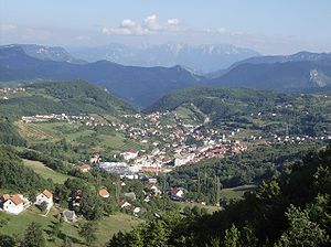 Prozor-Rama - Panoramic view