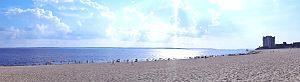 Panorama da Praia Ponta Negra