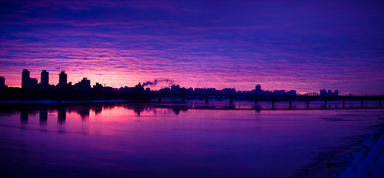 File Panoramic View Of The Dnieper River Left Bank  Kiev