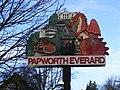 Papworth Everard Village Sign - geograph.org.uk - 1084474.jpg