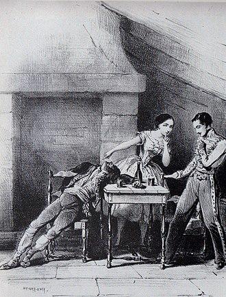 Paquita - Image: Paquita Carolotta Grisi, Lucien Petipa, & Georges Ellie 1844