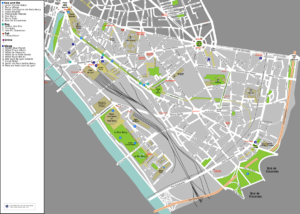 12th arrondissement of Paris - Map of the 12th arrondissement