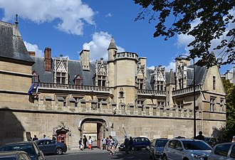 Musée de Cluny – Musée national du Moyen Âge - The Musée national du Moyen Âge in the Hôtel de Cluny