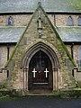 Parish Church of St Peter, Chorley, Porch - geograph.org.uk - 664475.jpg
