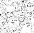 Park Close, Englefield Green, Ordnance Survey map 1935.jpg