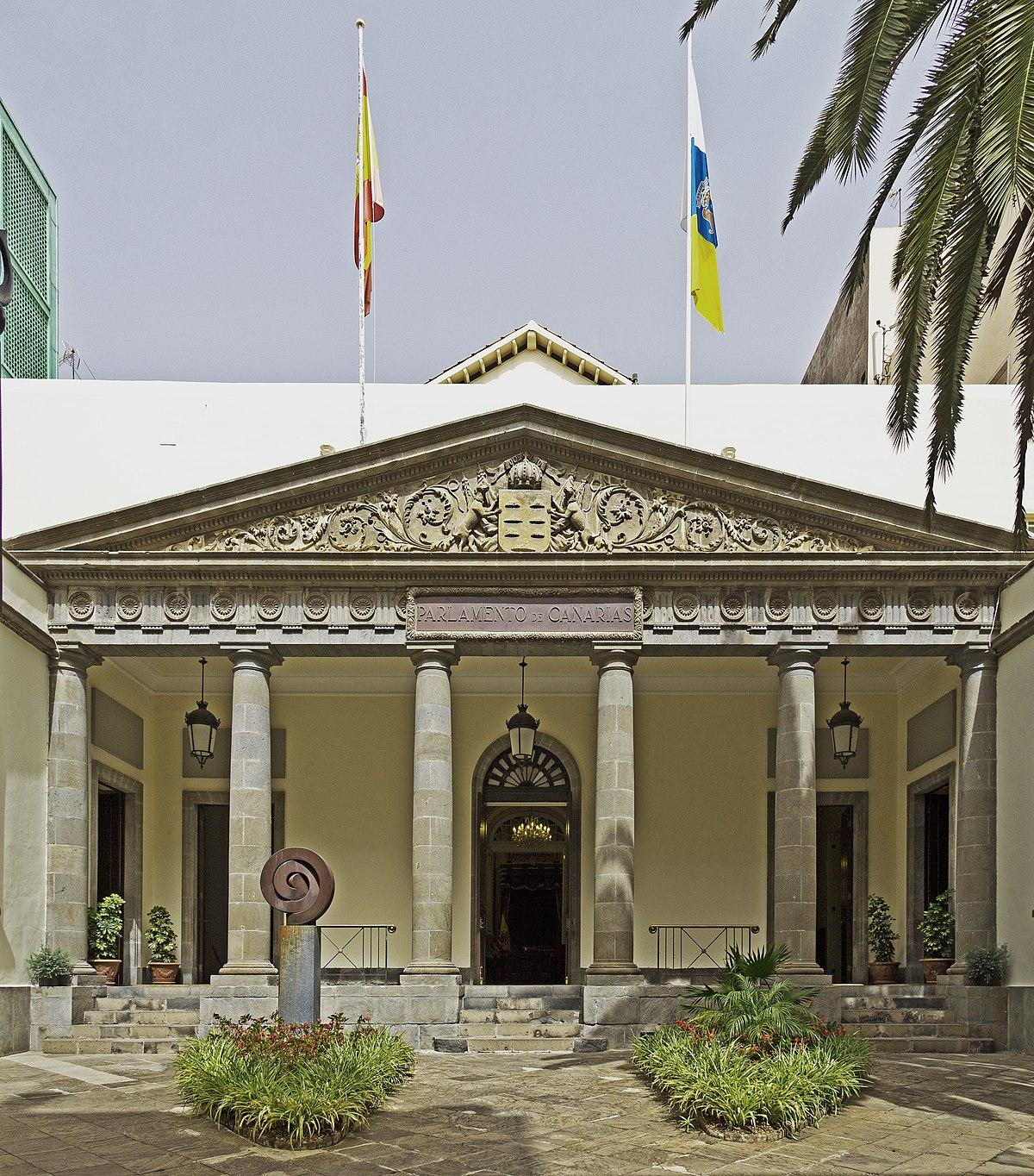 Sede del parlamento de canarias wikipedia la for Sede del parlamento