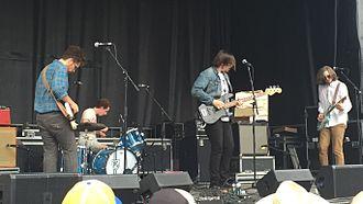 Parquet Courts - Parquet Courts at Solid Sound Festival, 2015