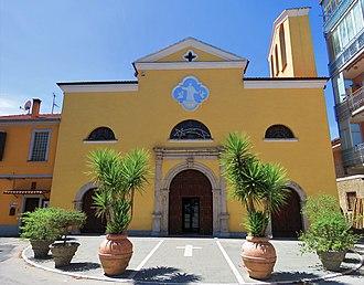 Auletta - S. Nicola Di Mira church.