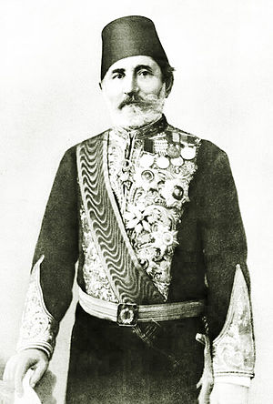 Pashko Vasa - Pashko Vasa as a governor of Lebanon