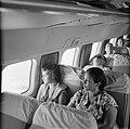 Passagiers in de Dakota van de KLM, vliegend vanuit Trinidad, Bestanddeelnr 252-2691.jpg