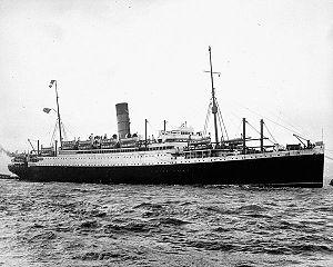 Passenger Liner AUSONIA of Cunard Line