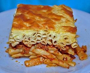 Macaroni pie - Pastitsio