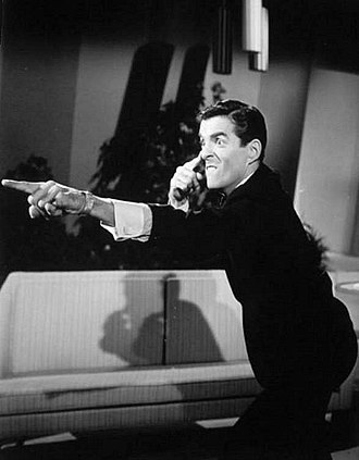 Pat Harrington Jr. - Harrington as host of Stump the Stars, 1962