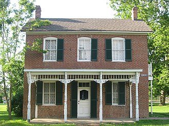 Paul Dresser - Paul Dresser Birthplace in Terre Haute, Indiana