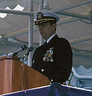 Paul X. Rinn at USS Samuel B. Roberts (FFG 58) commissioning cropped.jpg