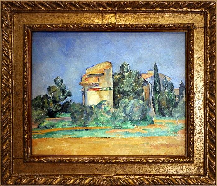 File:Paul cézanne, piccionaia a bellevue, 1890, 01.jpg