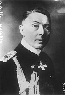 Paul von Hintze German admiral