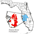 Peace River Formation Florida map.png