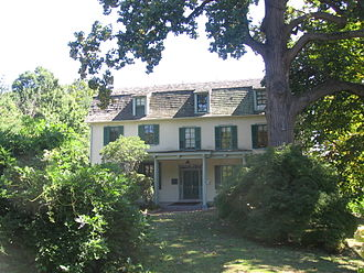La Salle University - Peale House on Belfield, the former Office of the President of La Salle