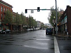 Main Street in Downtown Pendleton