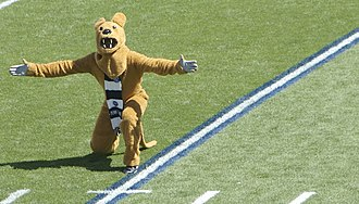 Nittany Lion - The Nittany Lion mascot at the 2007 season opener