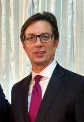 President Stevo Pendarovski