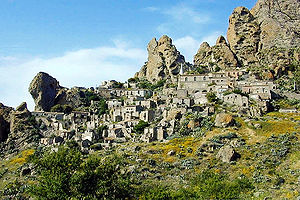 Province of Reggio Calabria - A village on the Aspromonte massif.