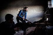 People's Defense Units defending Ras al-Ayn against al-Nusra Front terrorists (2)