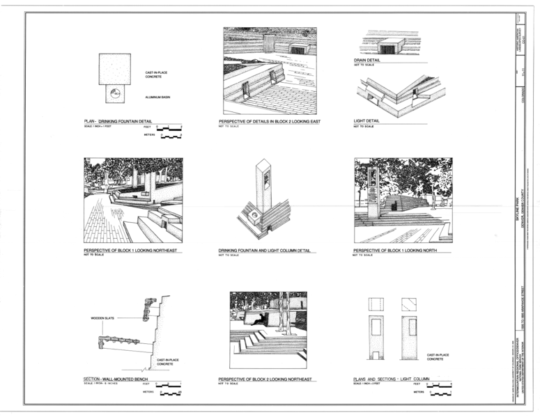 File:Perspective of Block 1 and 2, Drinking Fountain Plan ...