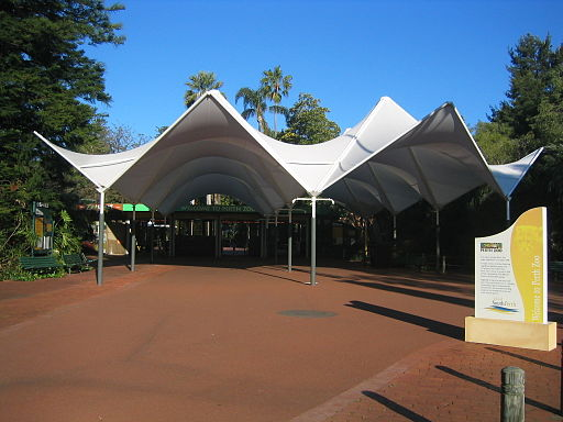 Perth Zoo entrance