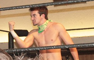 Peter Avalon - Avalon at a Pro Wrestling Guerrilla event in 2011