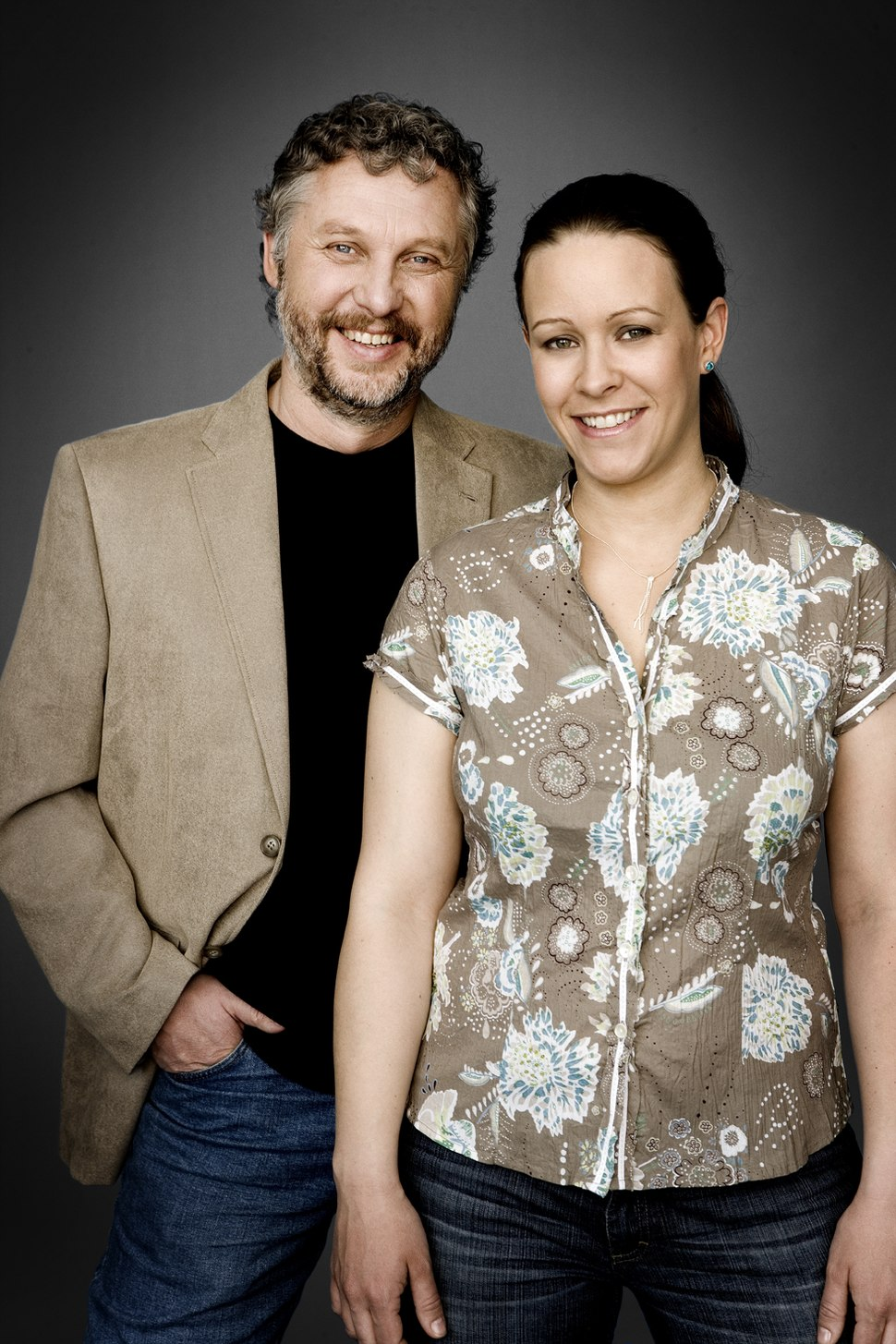 Peter Eriksson and Maria Wetterstrand