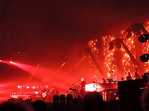 Back to Front Tour - Image: Peter Gabriel Back to the Front Tour Red Rain 29042014