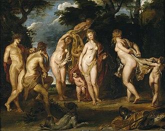 The Judgement of Paris (Rubens) - Image: Peter Paul Rubens The Judgement of Paris, c.1606 (Museo del Prado)