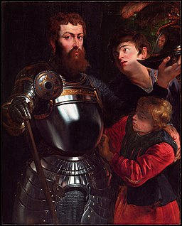 Peter Paul Rubens - Warrior with Two Pages - 79.16 - Detroit Institute of Arts