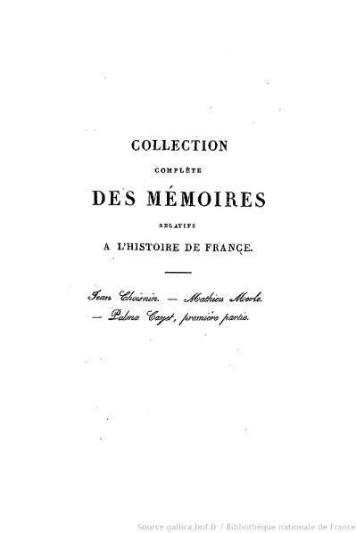 File:Petitot - Collection complète des mémoires relatifs à l'histoire de France, 1re série, tome 38.djvu