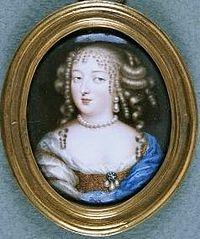モンテスパン侯爵夫人Jean Petitot画、1670年頃