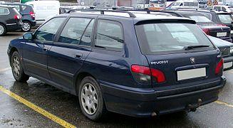 Peugeot 406 Kombi rear 20080312.jpg