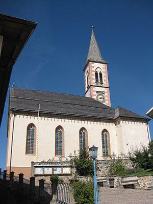 Aldein - the Parish church of Aldein